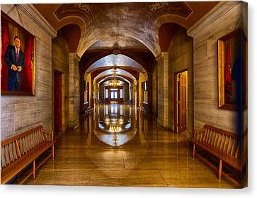 Tennessee Capital Hallway Canvas Print