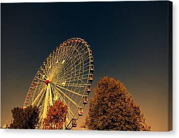 Texas Star Ferris Wheel Canvas Print