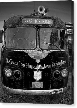 Canvas Print featuring the photograph Texas Top  Hands by Jim Mathis