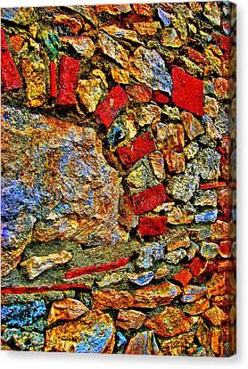 Charles River Canvas Print - Texture. Altos De Chavon. by Andy Za