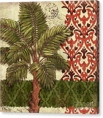 Thai Palm II Canvas Print by Paul Brent