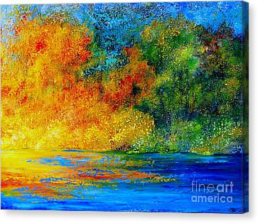 Memories Of Summer Canvas Print
