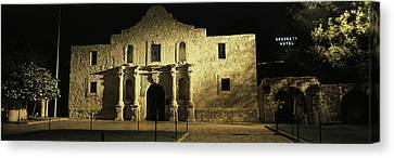 The Alamo San Antonio Tx Canvas Print by Panoramic Images
