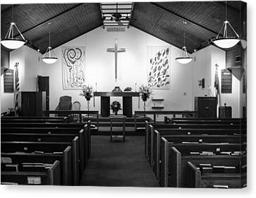 Canvas Print featuring the photograph The Altar by Monte Stevens