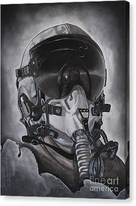 The Aviator Canvas Print by Joe Dragt