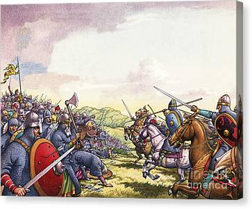 The Battle Of Hastings Canvas Print