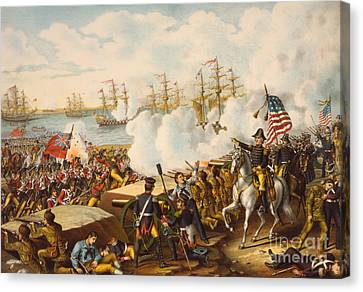 The Battle Of New Orleans Canvas Print