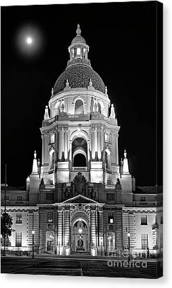 Cityhall Canvas Print - The Beautiful Pasadena City Hall. by Jamie Pham