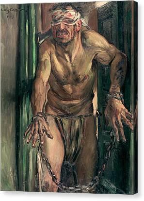 The Blinded Samson Canvas Print