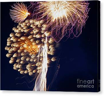 The Bombs Bursting In Air Canvas Print by Gary Holmes