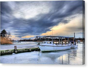 The Calm Before Canvas Print by JC Findley