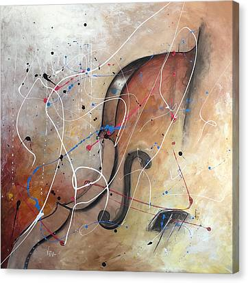 The Cello Canvas Print by Germaine Fine Art