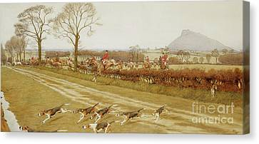 The Cheshire - Away From Tattenhall Canvas Print