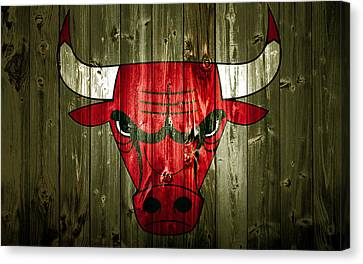 The Chicago Bulls 2a Canvas Print