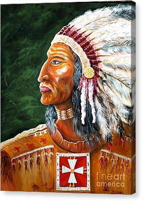 The Chief Canvas Print by Philip Bracco