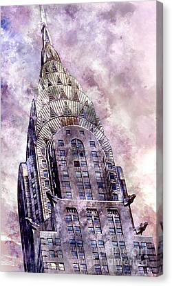 The Chrysler Building Canvas Print by Jon Neidert
