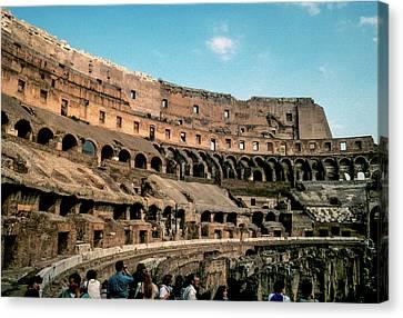 The Colliseum Canvas Print