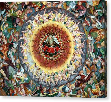 Cupola Canvas Print - The Concert Of Angels by Gaudenzio Ferrari