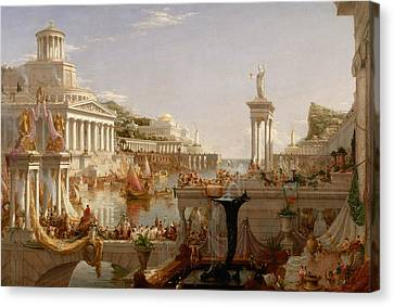 The Consummation Of Empire Canvas Print