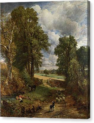 Cattle Dog Canvas Print - The Cornfield by John Constable