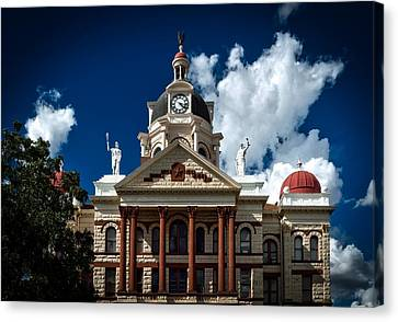 The Coryell County Courthouse Canvas Print