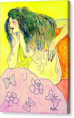 The Diva..... Canvas Print