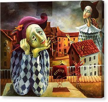 The Dreamer Canvas Print by Igor Postash