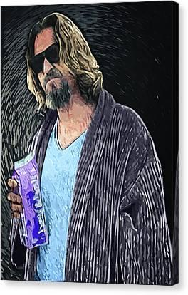 The Dude Canvas Print