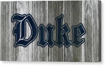 The Duke Blue Devils 1b Canvas Print