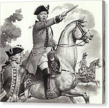 The Duke Of Cumberland Canvas Print by Pat Nicolle