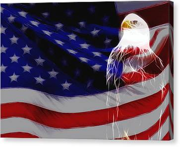 The Eagle Canvas Print by Stefan Kuhn