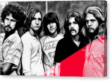 The Eagles Collection Canvas Print by Marvin Blaine