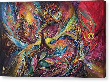 The Elegy Canvas Print by Elena Kotliarker
