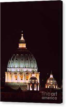 The Father Of All Domes II Canvas Print by Fabrizio Ruggeri
