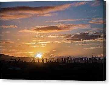 The Final Sunrise Canvas Print