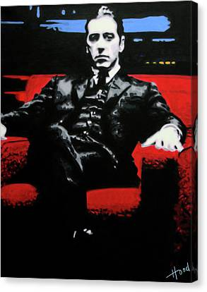 John Keaton Canvas Print - The Godfather by Hood alias Ludzska