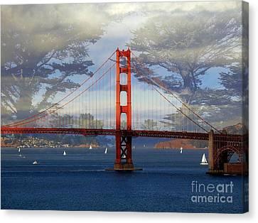 The Golden Gate Bridge  Canvas Print by Scott Cameron