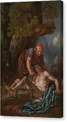 The Good Samaritan Canvas Print by Francis Hayman