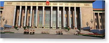 The Great Hall Of The People Canvas Print by Panoramic Images