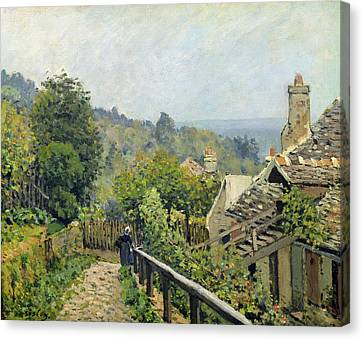 The Heights At Marly Canvas Print by Alfred Sisley