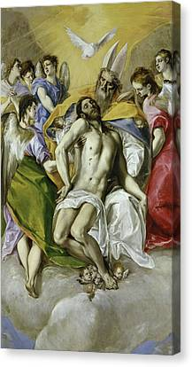 The Holy Trinity Canvas Print by El Greco