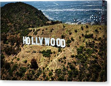 The Iconic Hollywood Sign Canvas Print