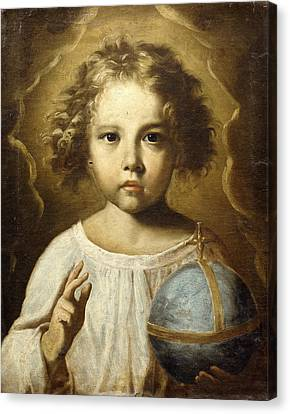 The Infant Jesus Canvas Print by Italian