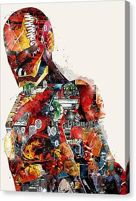 The Ironman Canvas Print by Bri B