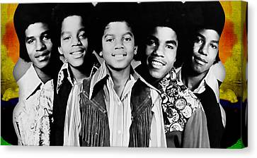 The Jackson 5 Collection Canvas Print