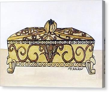 The Jewelry Box Canvas Print by Marsha Heiken