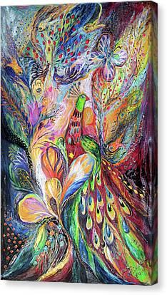 The King Bird Canvas Print by Elena Kotliarker