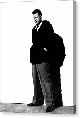 The Lady From Shanghai, Orson Welles Canvas Print by Everett