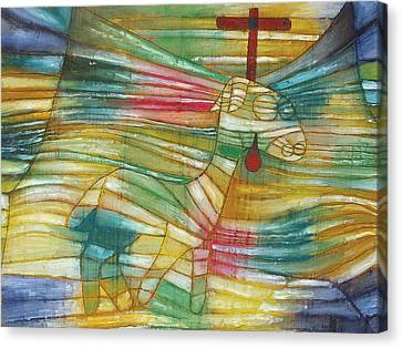 The Lamb Canvas Print by Paul Klee
