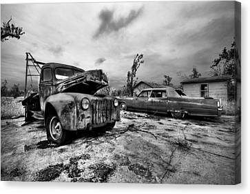 The Last Tow Canvas Print